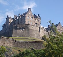 edinburgh castle 2 by gemma angus