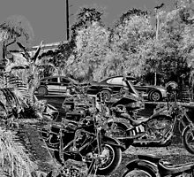 Metal Motorcycles #5 by twinmoon