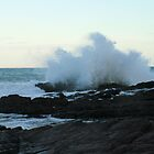Big waves,Hallett cove, S.A. by elphonline