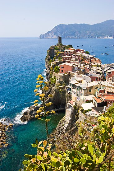 Vernazza by Albert Crawford