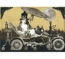 Steampunk Alice Photographic Print