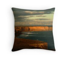 Port Campbell Coast Line,Great Ocean Rd Throw Pillow
