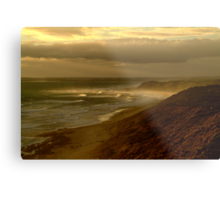Sunburst 13th Beach,Bellarine Peninsula Metal Print