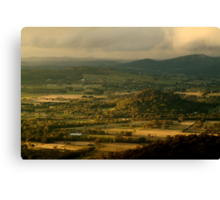 Hanging Rock, Macedon Ranges Canvas Print