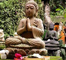 Buddha in Murni's Warung, Ubud, Bali by JonathaninBali