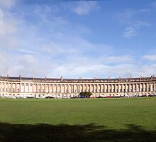 Royal Crescent. Bath by Paul Woloschuk