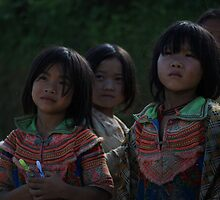 Hmong Girls by Andrew Willesee
