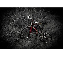 Wheels of Memories Photographic Print