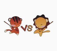 Tiny Tiger VS Tiny Lion Kids Clothes