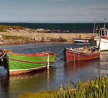 Berneray: Wee Harbour by Kasia-D