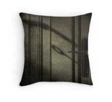 The handle  Throw Pillow