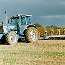 Ford TW-15 Ploughing by Edward Denyer