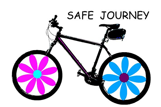 Safe journey by Agnes McGuinnessHave A Safe Journey With Flowers