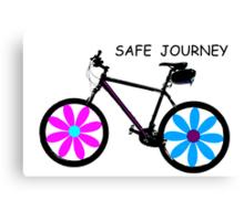 Safe journey Canvas Print