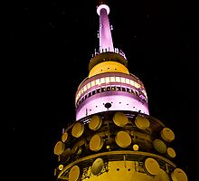 Telstra Tower by Raquel O'Neill