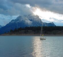 Signal Mountain & Jackson Lake by paulgranahan