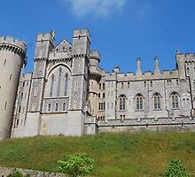 arundel castle by ampwizbit