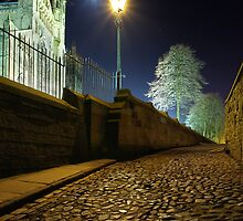 Lamplight & Moonlight - Durham Cathedral by David Lewins LRPS