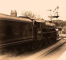 Train # 45212 by Trevor Kersley