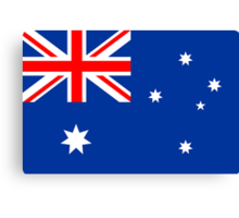 Australia, national id Canvas Print