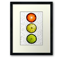 Citrus Light Framed Print