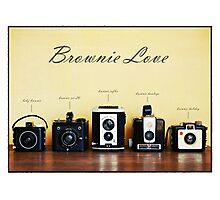 Brownie Love Photographic Print