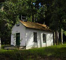 Uptop Chapel on Old La Veta Pass by Fletcher Hill