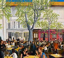 Saturday At Avignon by Peter Worsley