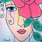 The beauy of a rose.....Please read discription  by Renate  Dartois
