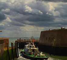 Pilot boat Vlissingen, Netherlands by PhotoAmbiance