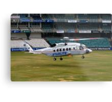 Sikorsky S-92 Landing at The Wanderers Cricket Stadium Metal Print