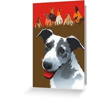 Clancy Greeting Card