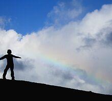 Rainbow boy by liquidlines