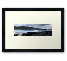 Ocean surfing  Framed Print