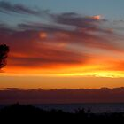 Sunset over National Park by liquidlines