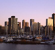 Vancouver Evening-1982 by George Cousins