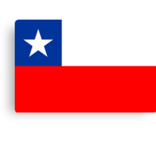 Chile, national id Canvas Print