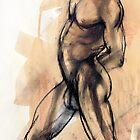 Male Torso by Roz McQuillan