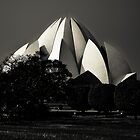 Lotus temple by Alex Howen