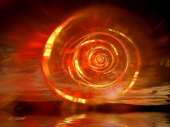 Flaming Dawn by Andrea Ida Rausch