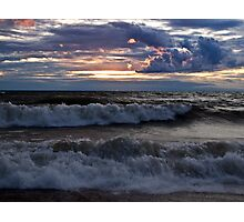 Waves on the Shore Photographic Print