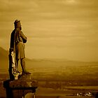 Robert The Bruce on Stirling Castle Esplanade by amypalko