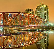 Detroit Bridge-Salford Quays. by maxblack