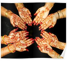 The Art Of Henna Body Painting  Poster