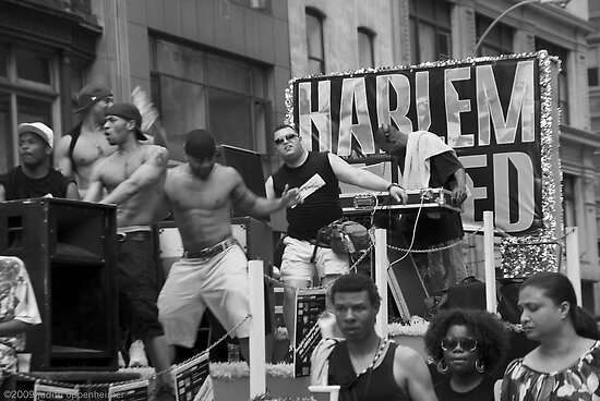 Harlem United, Gay Pride, June 2009 by Judith Oppenheimer