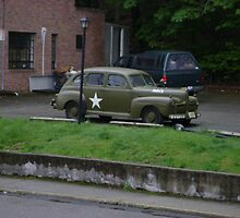 WWii Army staff car by Ronjohnnj