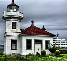 Mukilteo Lighthouse Two by Rick Lawler
