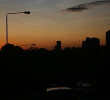 Good Night London by Allen Lucas