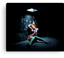 Alice in Urbanland Canvas Print