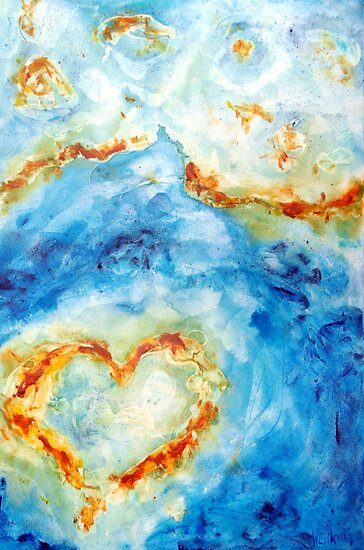 Heart Reef IV by Wendy Eriksson